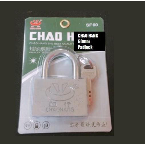 CHAOHANG Heavy Duty Brass Laminated Anti Rust Padlock Premium Quality Lock SF60