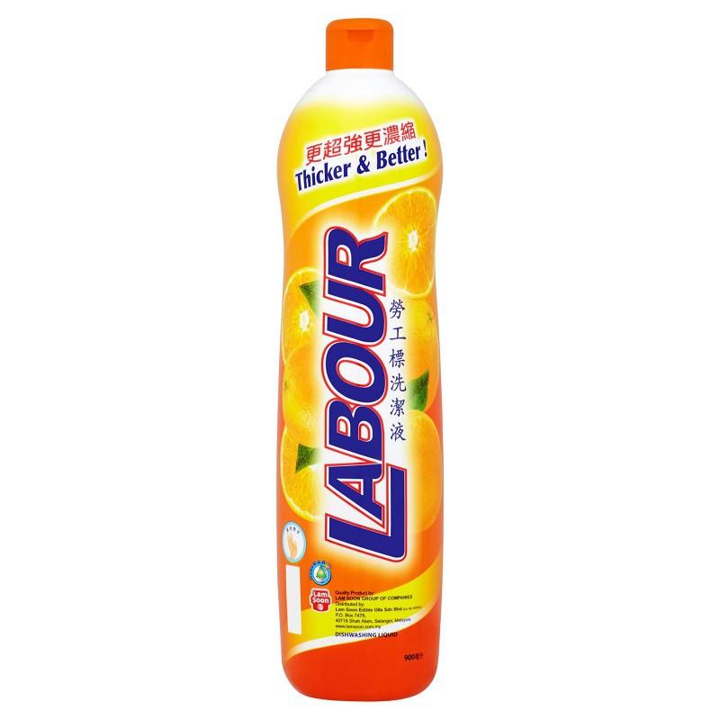 Labour Dishwashing Liquid Orange (900ml)