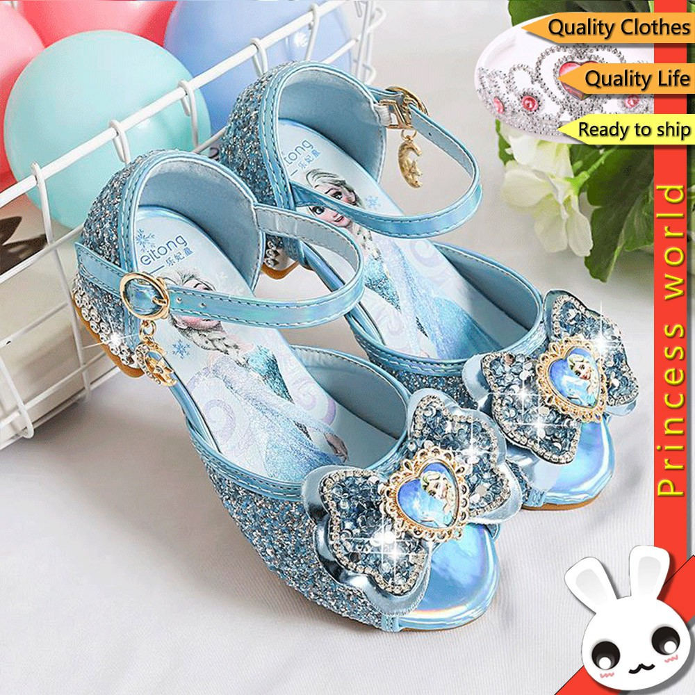 Girls High Wedge Heels Toddler Dress up Shoes Princess Crystal Jelly Sandals Toddler//Little Kid//Big Kid