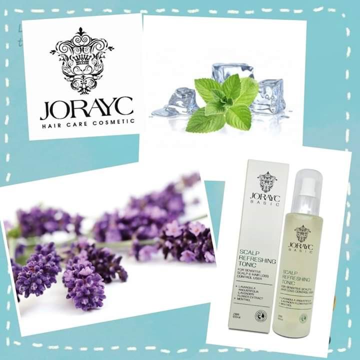 Jorayc Basic Scalp Refreshing Tonic 120ml 育发素