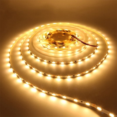2X Waterproof Yellow LED Strip 5050 SMD 300LED 5M Flexible Lamp Light DC12V DIY