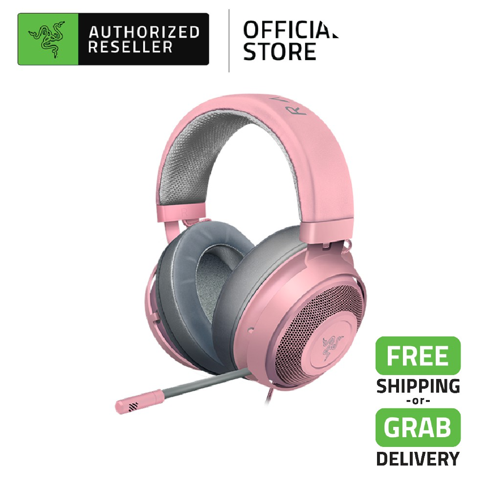 Razer Kraken Multi-Platform Competitive 7.1 Surround Sound Wired Gaming Headset - Quartz