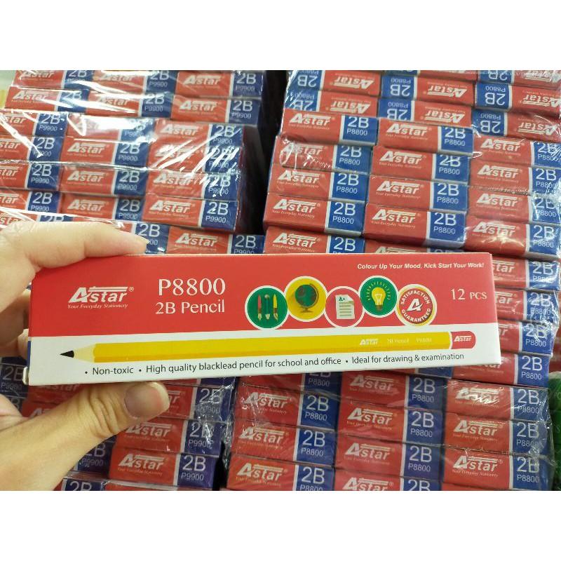 [ Offer ] Astar P8800 2B Pencil  12 pcs /box