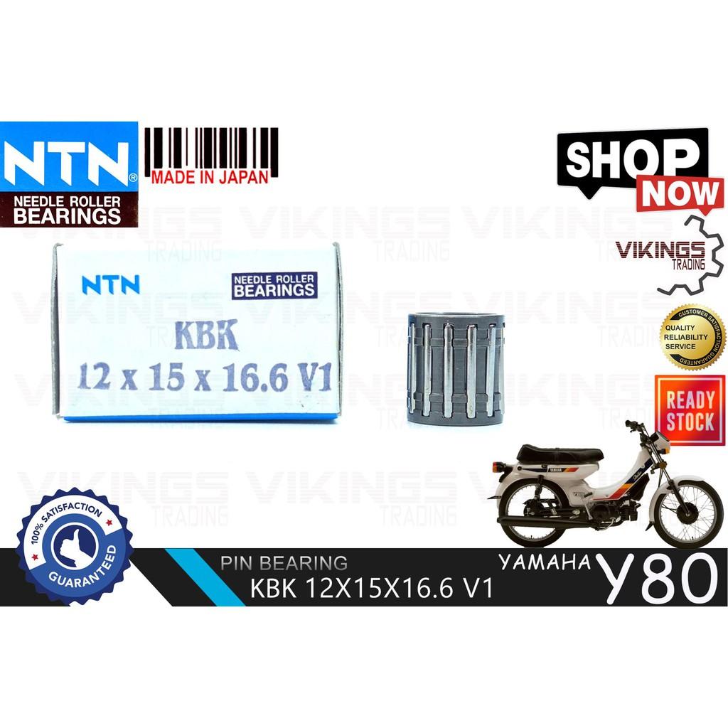 Y80 JAPAN NTN PIN BEARING KBK 12X15X16.6V1 Y80