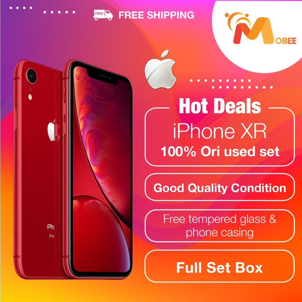 Apple iPhone XR 100% Original Used Set - 64GB / 128GB | Shopee Malaysia