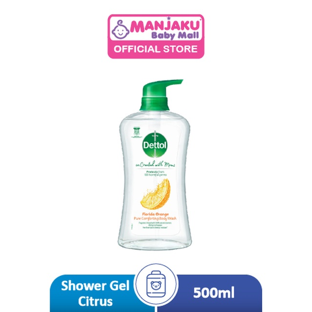 Dettol Co-Created with Mom Shower Gel Citrus - 500g