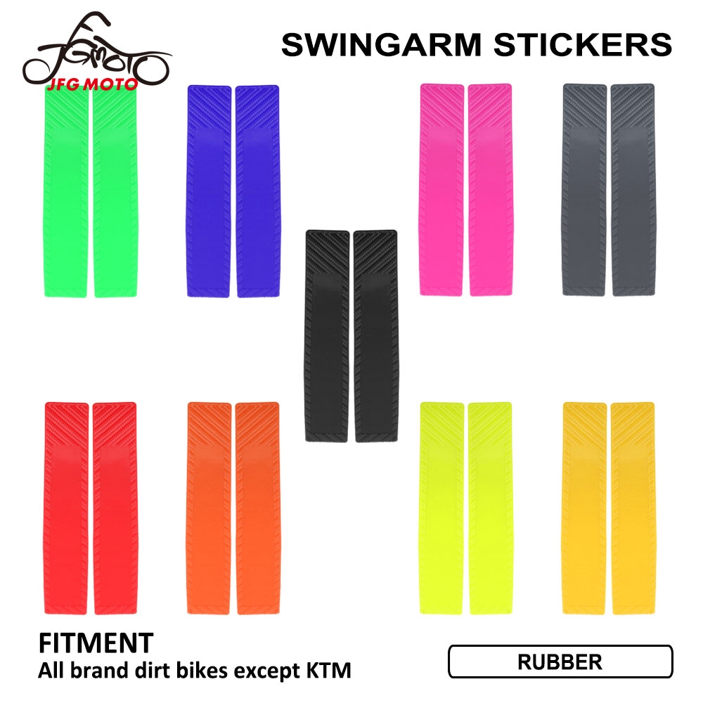 Swingarm Swing Arm Cover Stickers for Honda Yamaha Suzuki Kawasaki Dirt Bike