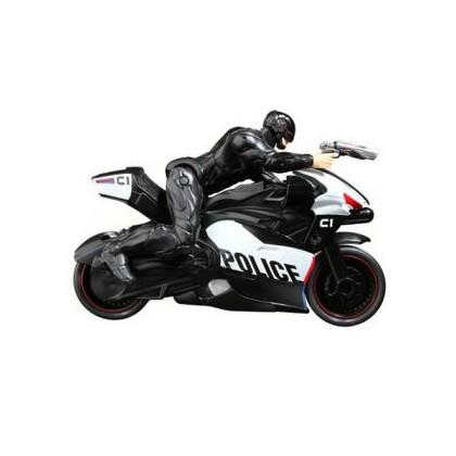 JADA ROBOCOP POLICE CRUISER W/ 4 inch ROBOCOP 3.0 ACTION FIGURE (BLACK) MODEL COLLECTION 84126