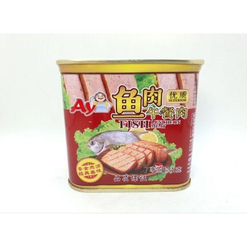 阿姨 优质鱼肉午餐肉 AYI Superior Fish Luncheon Meat (340 gram)