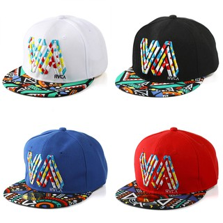 068ce72c Men Women Hip Hop Baseball Cap Hat Fashion Adjustable RVCA Unisex Outdoor  Dance | Shopee Malaysia