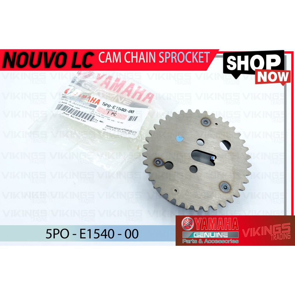 Nouvo-Lc Yamaha Nouvo LC Cam Chain Sprocket Assy 1 Original
