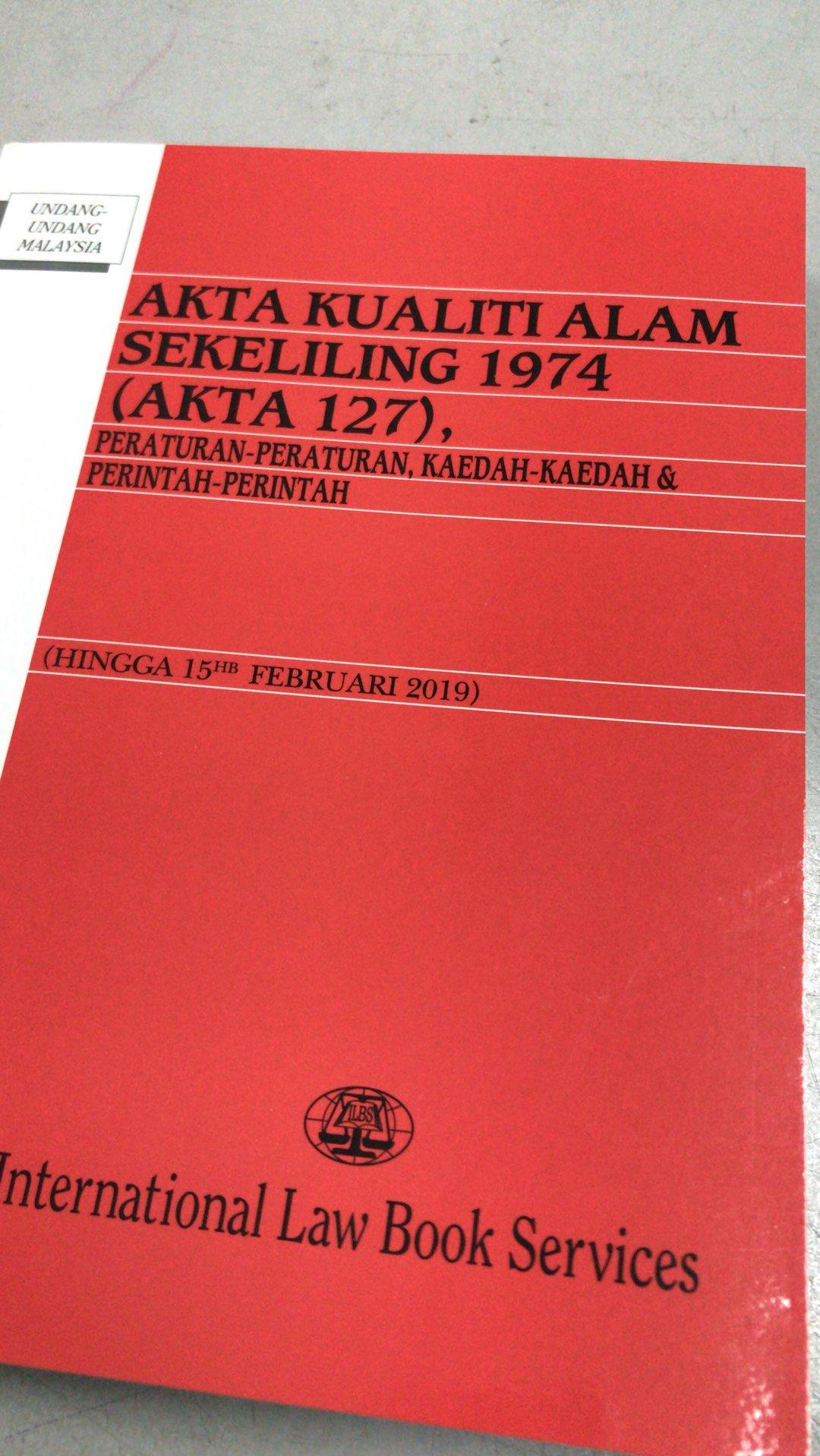 Akta Kualiti Alam Sekeliling 1974 Kumbahan