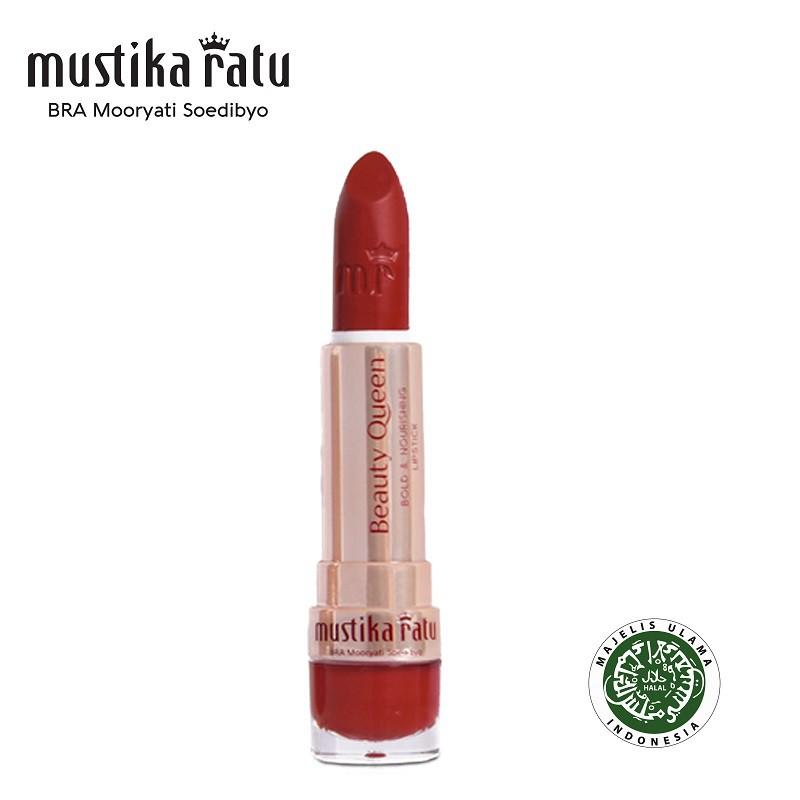 Mustika Ratu Beauty Queen Bold & Nourishing Lipstick 12 Ravishing Red 4gr