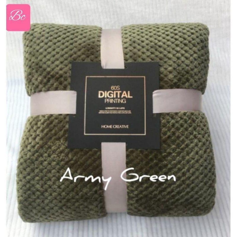 Selimut Soft Warm Blanket Bed Sofa Throw 150X200cm