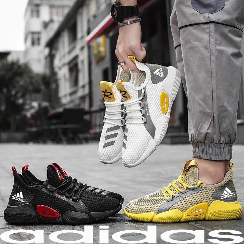 【READY STOCK】Adidas Men's Sneakers Shoes Kasut Lelaki Guys Walking Running Sport Man Casual Sneaker Shoes sneaker shoes