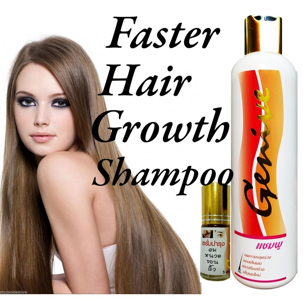 92cc2a08364 Genive Long Hair Fast Growth Shampoo Helps Your Hair to Lengthen Grow  Longer | Shopee Malaysia