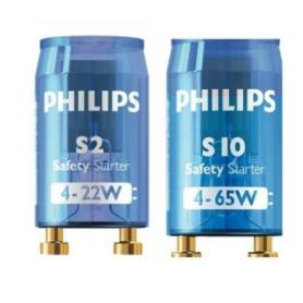 Philips Starter S10 fluorescent lamps starter  ( S10 4-65w ) ( S2 4-22w ) 1 pcs