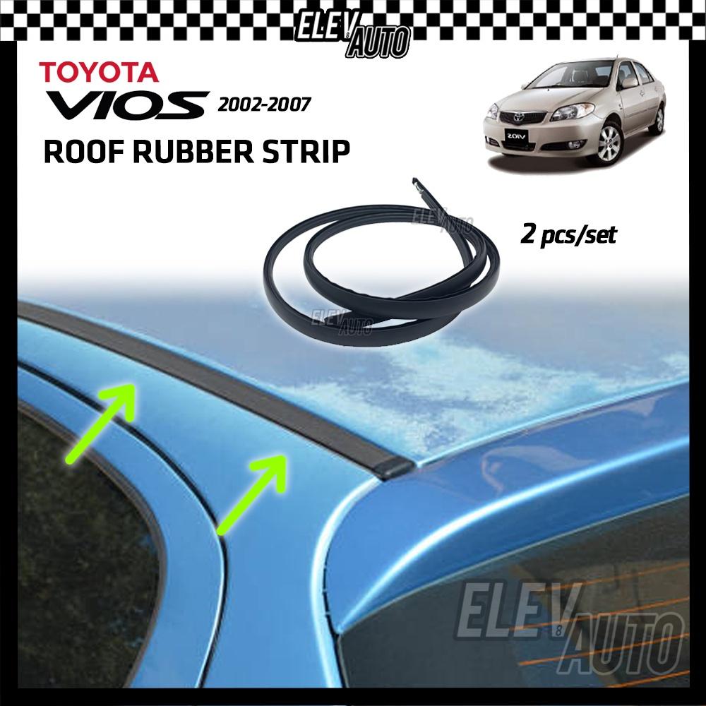 Toyota Vios Roof Rubber Strip Seal Strip Weatherstrip Moulding Trim Getah Bumbung NCP42 NCP93 NCP150
