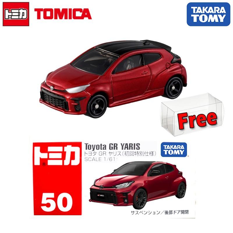 OCT 2020 #50 1st version Toyota GR Yaris TOMICA TAKARA TOMY