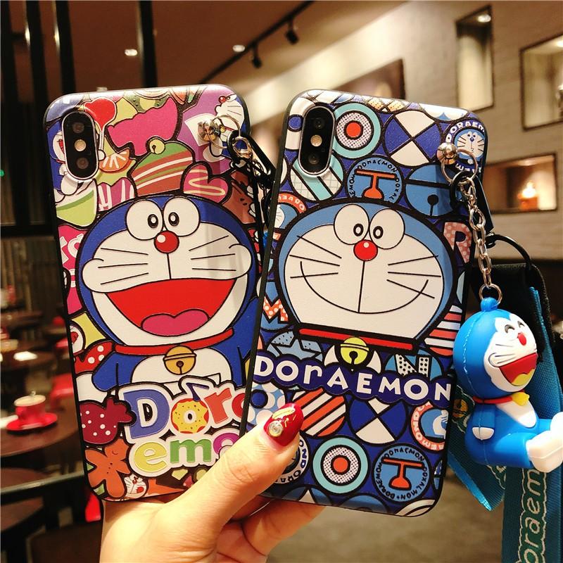Cartoon Doraemon Soft Cover + Strap - Xiaomi Mi A1 Mix2 Redmi 4X Note 5 5A Prime | Shopee Malaysia