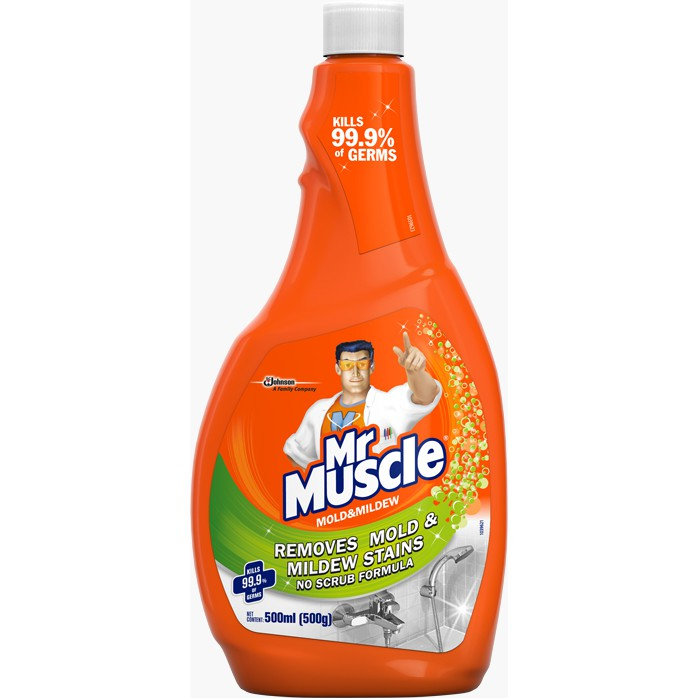 Mr Muscle Mold Mildew Killer Refill Pack 500ml Shopee Malaysia