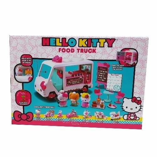 7b8b3b510 Jada Toys Hello Kitty Food Truck Genuine License Product White Model    Shopee Malaysia