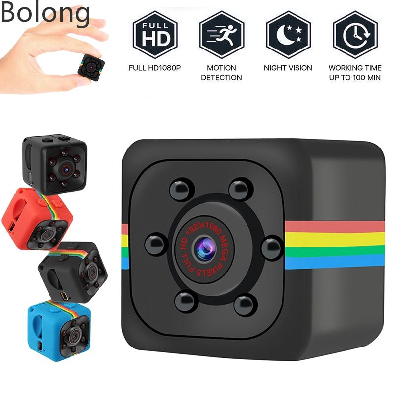 MD19 Wireless Charger Mini HD 1080P Spy Hidden Nanny Camera Video Recorder BG
