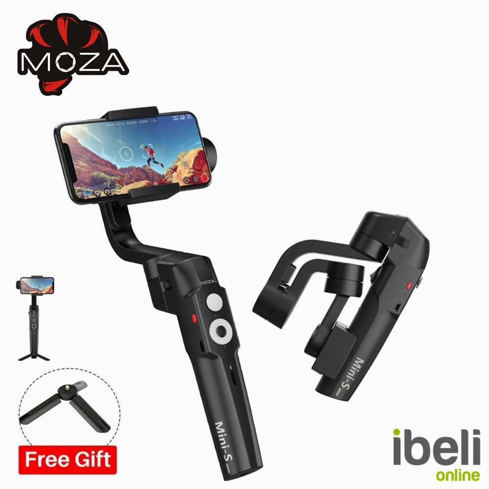 MOZA MINI-S 3 Essential Axis Foldable Pocket-Sized Handheld Gimbal Stabilize