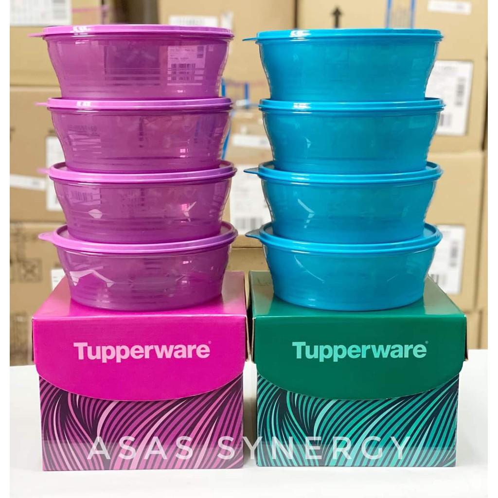 Tupperware Big Wonders Set (4) 1.4L Blue or Green Free Gift Box