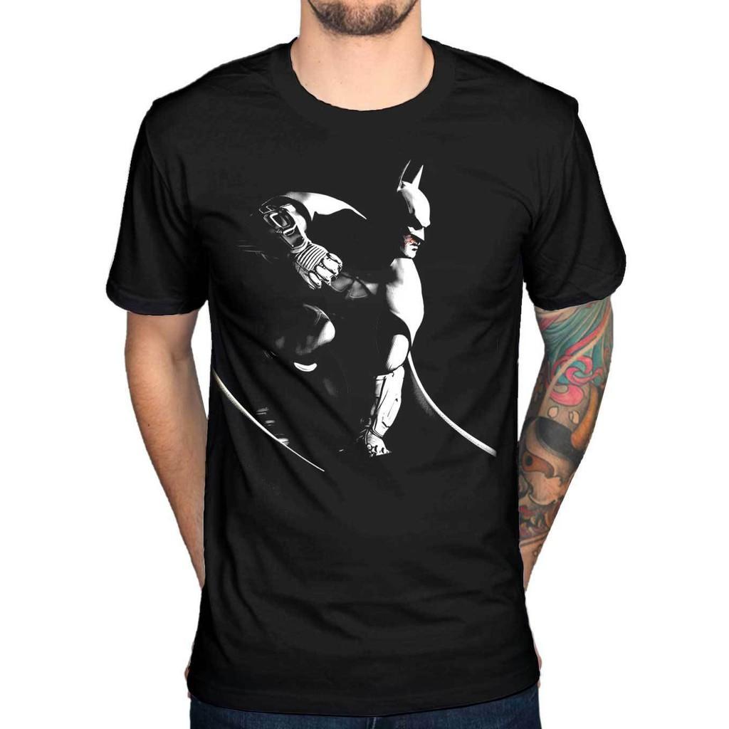 Batman Logo T-shirt DC Comic Dark Knight S M L XL 2XL