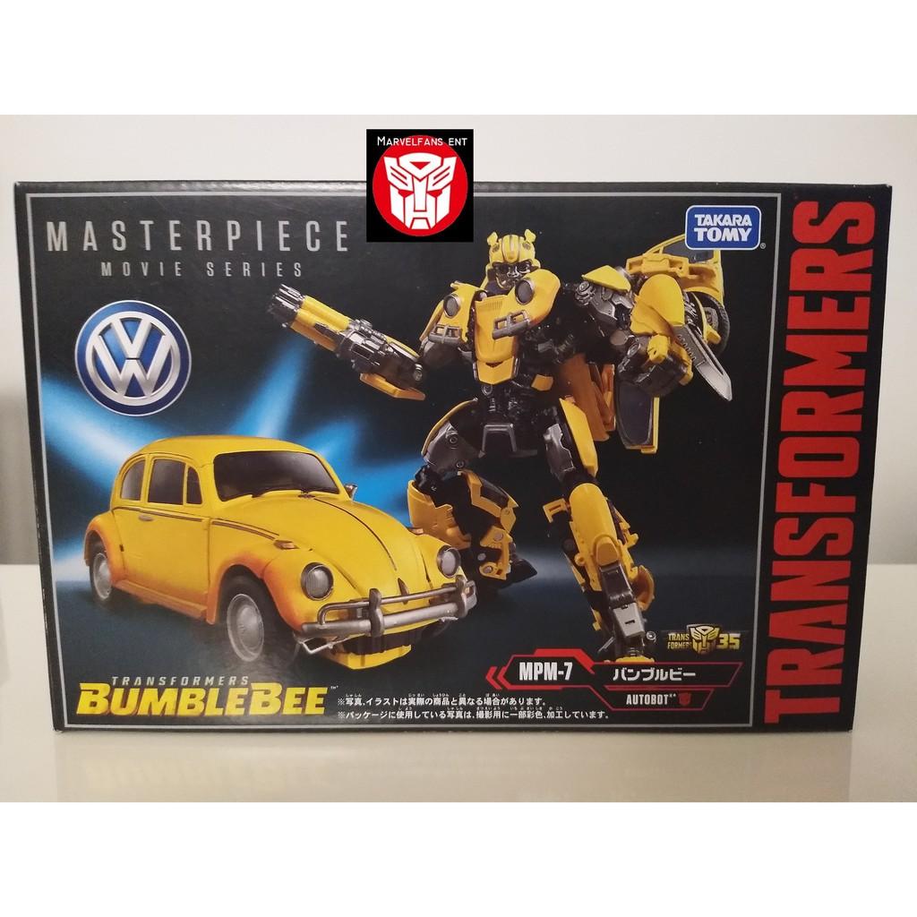 100/% Takara Transformers Masterpiece MPM-7 Movie VW Beetle Bumblebee In-Stock