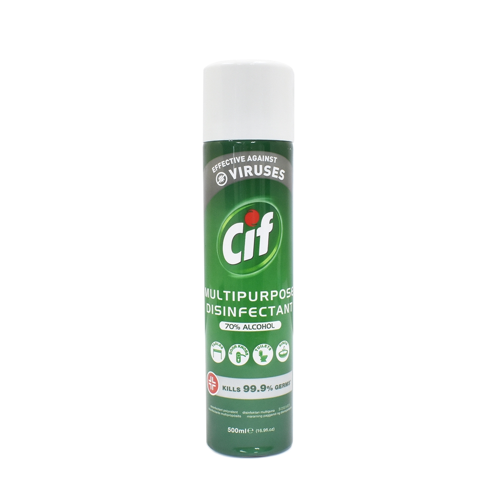CIF Multi-Purpose Disinfectant Spray Pack (70% alcohol)