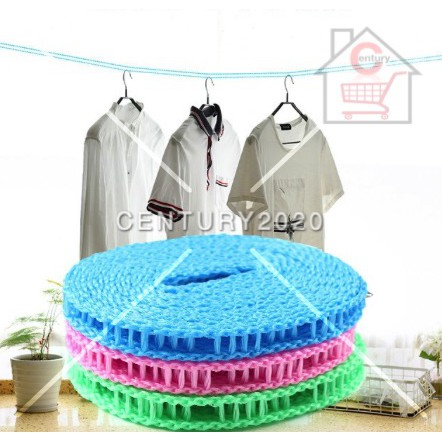 Drying Rope Anti-Skid Windproof Clothesline Portable Outdoor Travel Clothesline Rope Drying Laundry Utensils 3 Meters