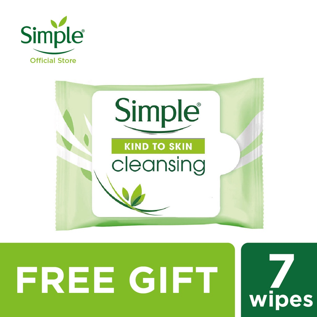Simple Cleansing Facial Wipes (7's) [Gift With Purchase]