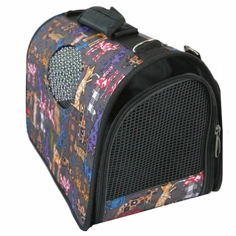 Oxford Pet Carrier Bag Carry Cat Kitten Dog Puppy Pets Carriers Purses Beds Mats