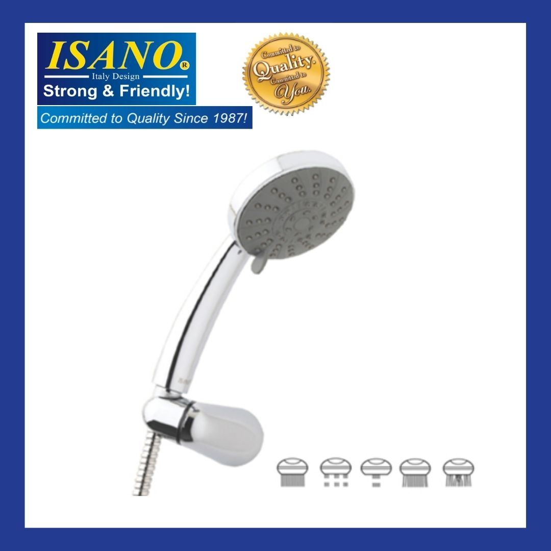 ISANO 1870HS / 1870 HS HAND SHOWER SET COME WITH 1.5M STAINLESS STEEL HOSE