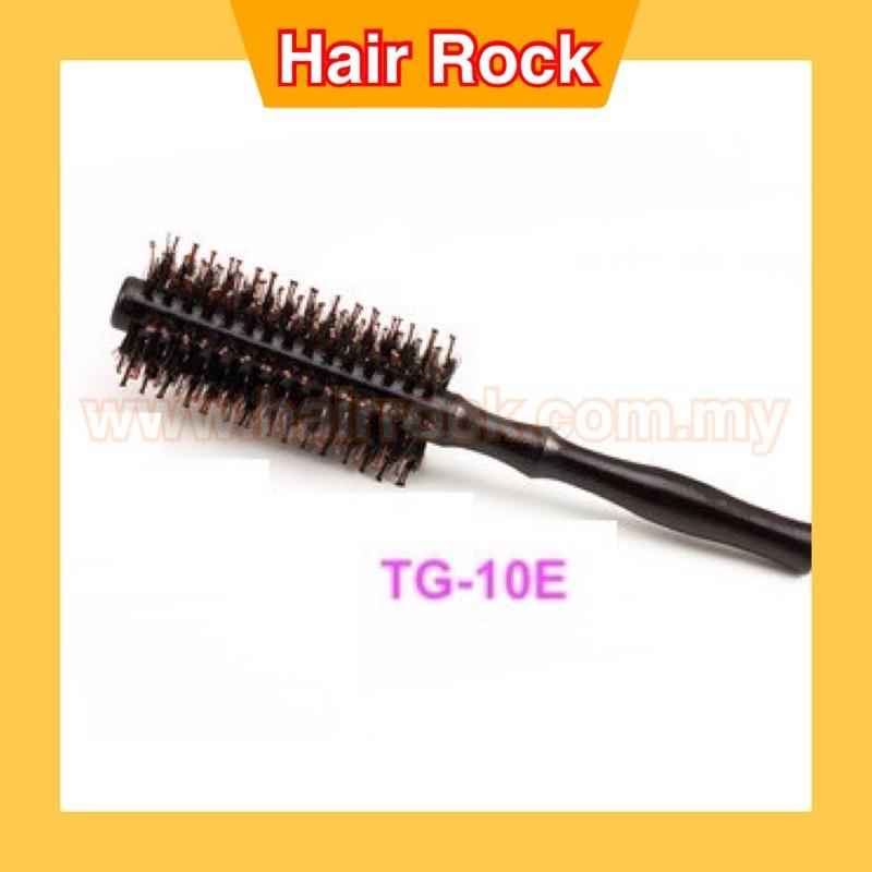 NEKPro Professional salon Wood Roll Brush Comb