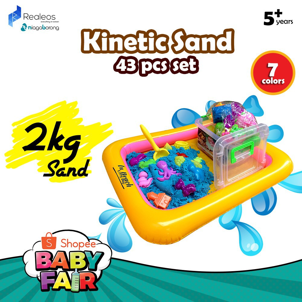 Helpful 500g/pcs Colorful Kineti Sand Toy With Tools Dynamic Children Educational Magic Playdough Beach Space Sand Toys For Kids Modeling Clay