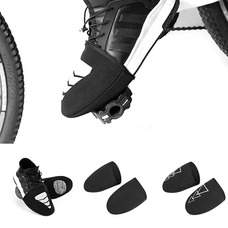 Bicycle Cycling Shoe Covers Toe Cover Protector Windproof Warm Half Overshoes