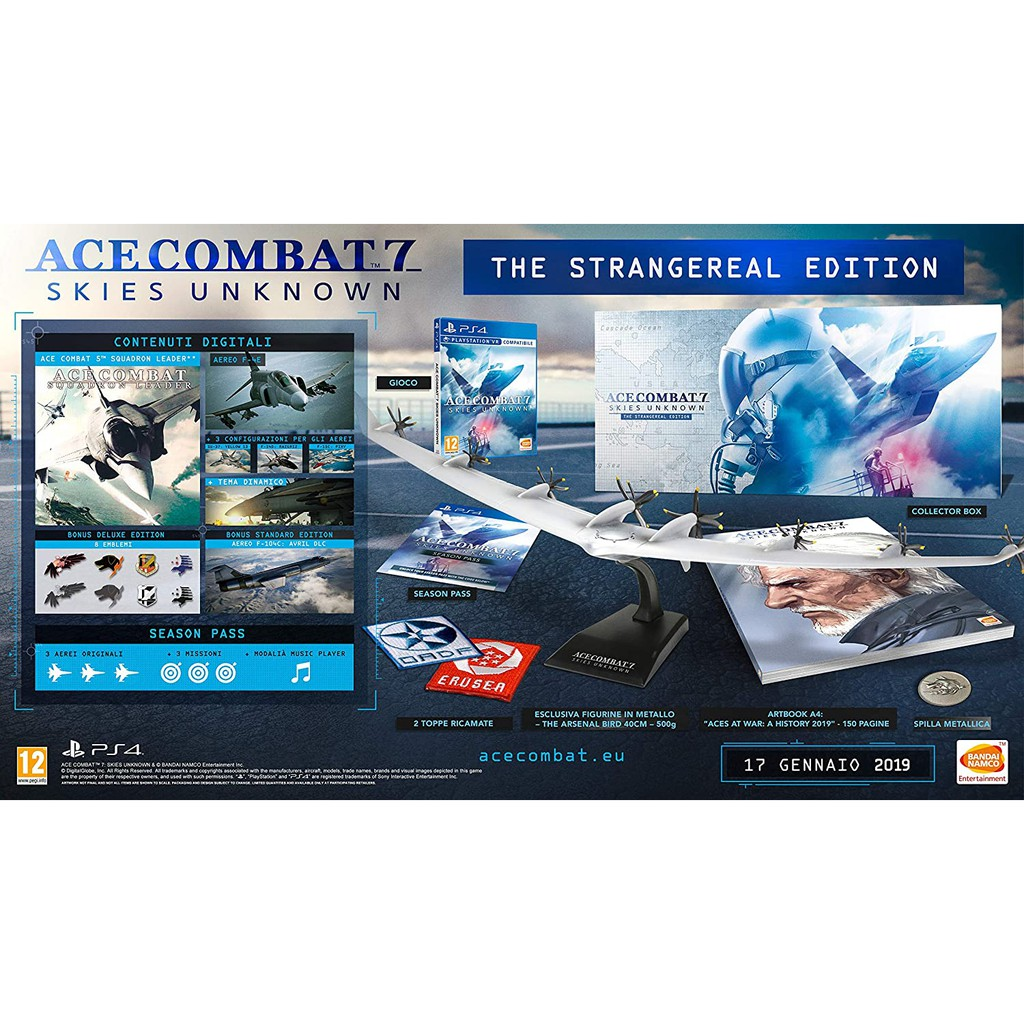 PS4 Ace Combat 7: Skies Unknown Collector\'s Edition (The Strangereal Edition) (R3/ENG)