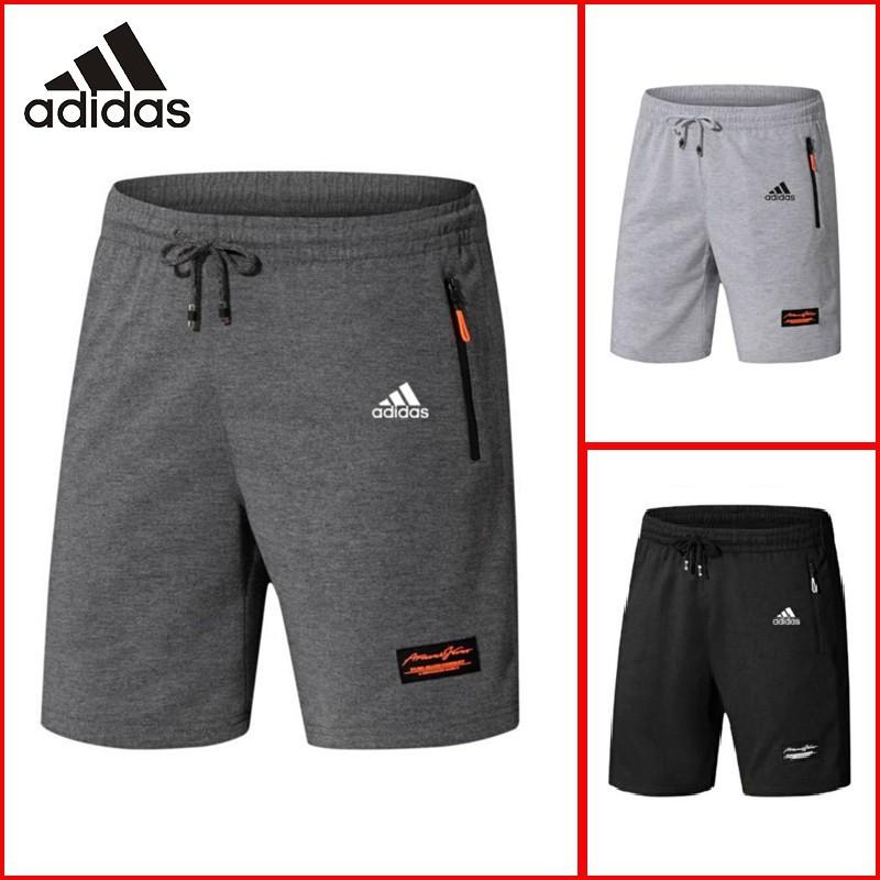 ready stock】 Men's beach pants sport shorts with zipper pocketMen Casual Short  Pants Sports Short Trousers Beach Shorts   Shopee Malaysia
