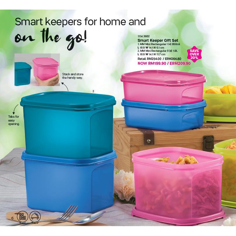 Tupperware Smart Keeper Gift Set
