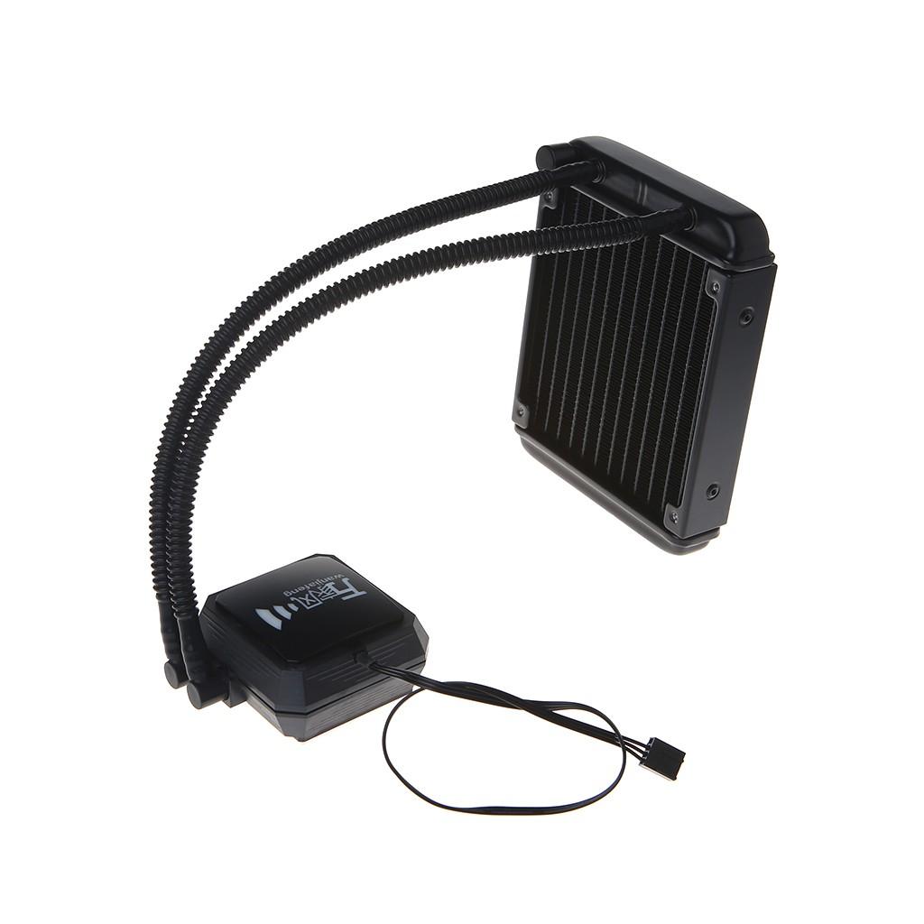 Liquid Freezer Cooling System CPU Cooler Fan Fluid Dynamic Bearing Radiator  Kit