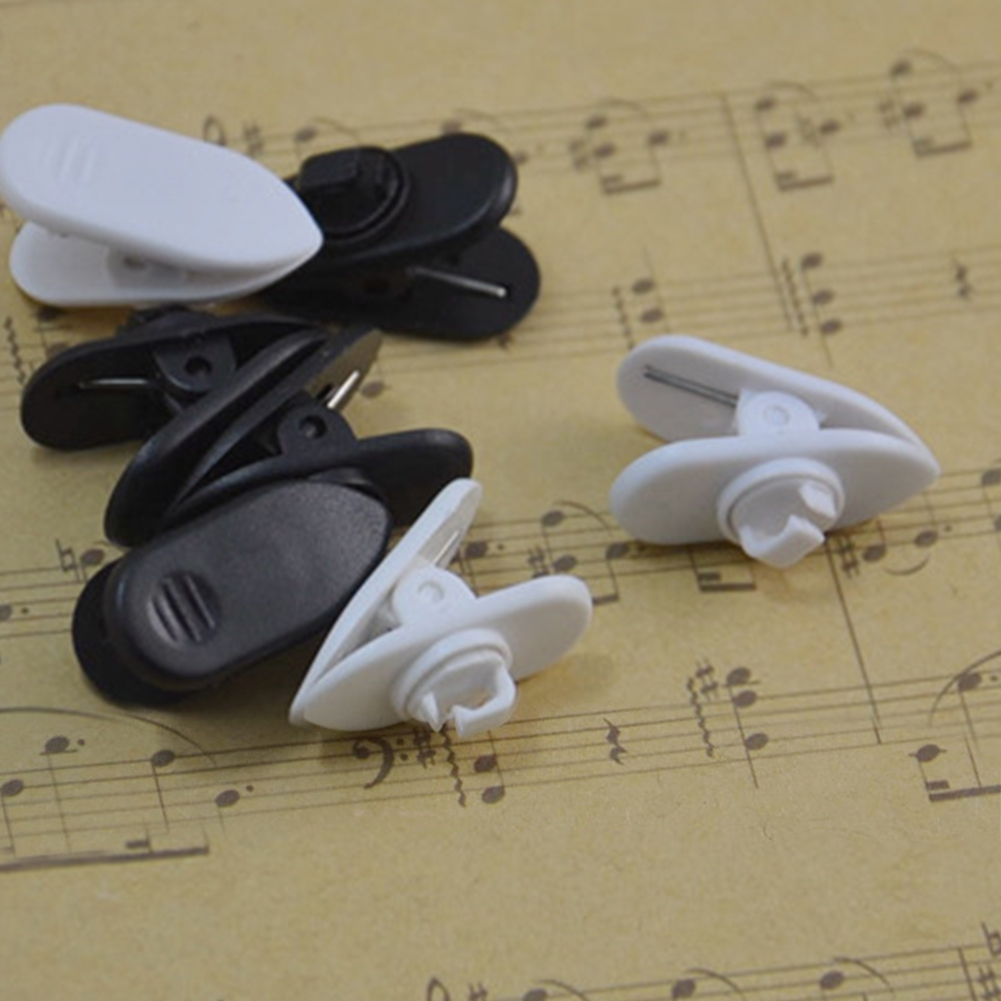 10Pcs Earphone Headphone Cable Wire Cord Lapel Collar Clip Clamp Mount Holders