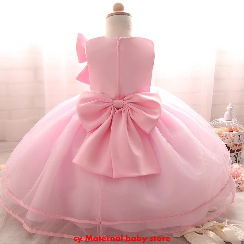 2018 Girls Rapunzel Dress Princes Evening Gown Party Kids Wedding Bridesmaid 44