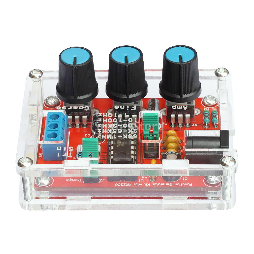 Dds Function Signal Generator Diy Kit Sine Triangle Square Wave 1hz 1mhz Free Schematic Diagram Up To 22mhz Using Max038 Cjmcu 9833 Ad9833 Ad9833brmz Module Shopee Malaysia