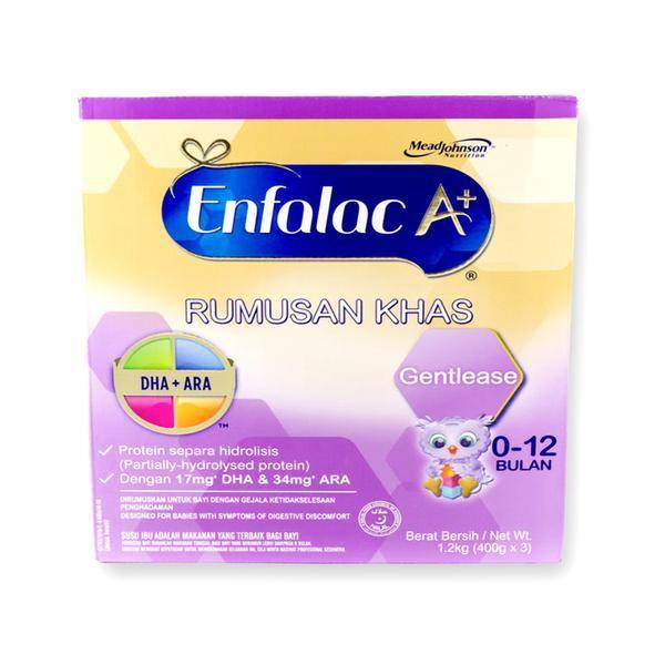Enfalac A+ Gentlease for Babies Digestion Problem 0- 12 Months 1.2kg