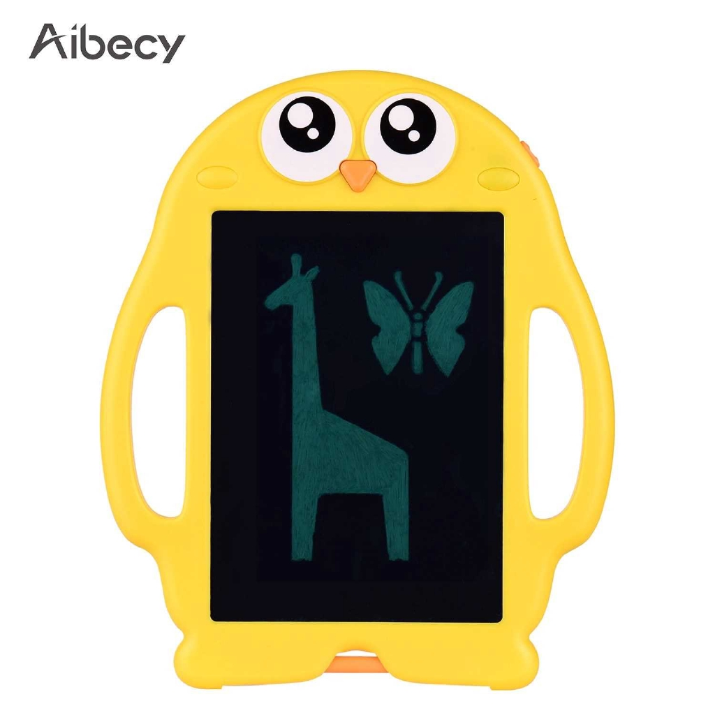 Aibecy 8.5 Inch Cartoon LCD Writing Tablet Electronic Drawing Pad Handwriting Doodle Board with 6 Pack Copy Paper Lock