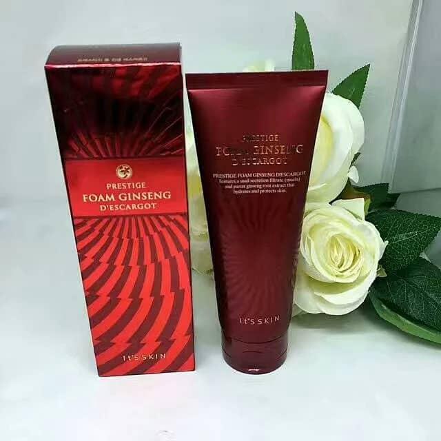 It\'s Skin Prestige Foam Ginseng D\'escargot 150ml