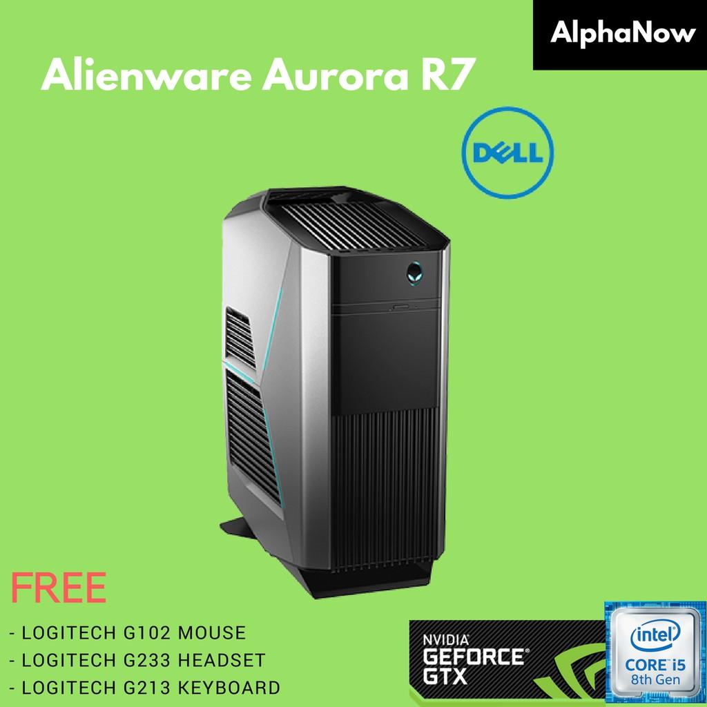 DELL AURORA R7 (Intel i5-8400, 8GB DDR4, 1TB HDD , GTX1050Ti 4GB)